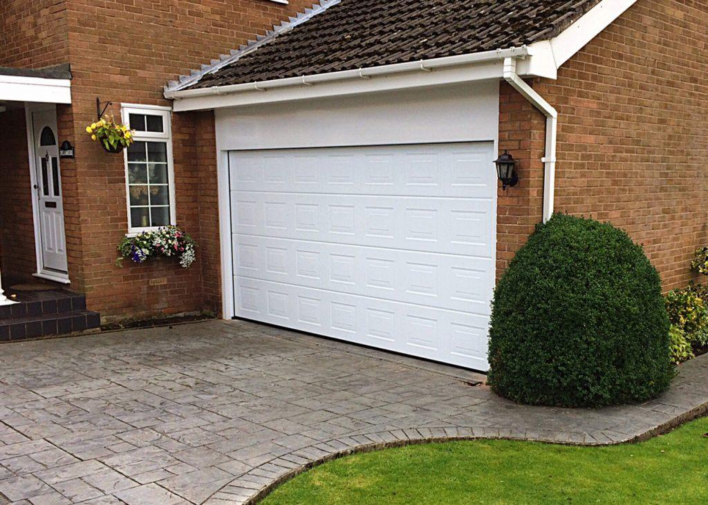 Hormann sectional garage door, Frodsham