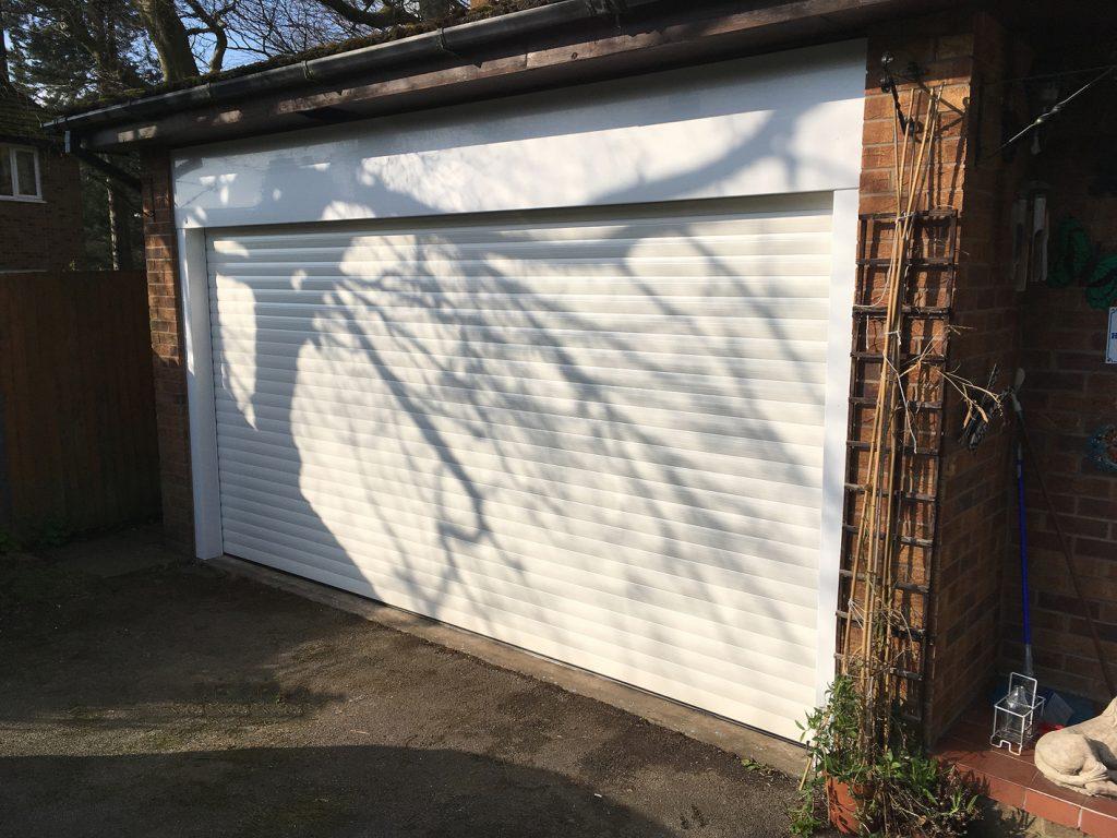 Alluguard garage door, Glossop
