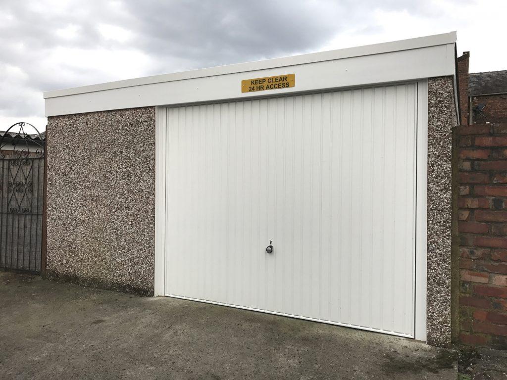 Garage renovation, Denton, Manchester