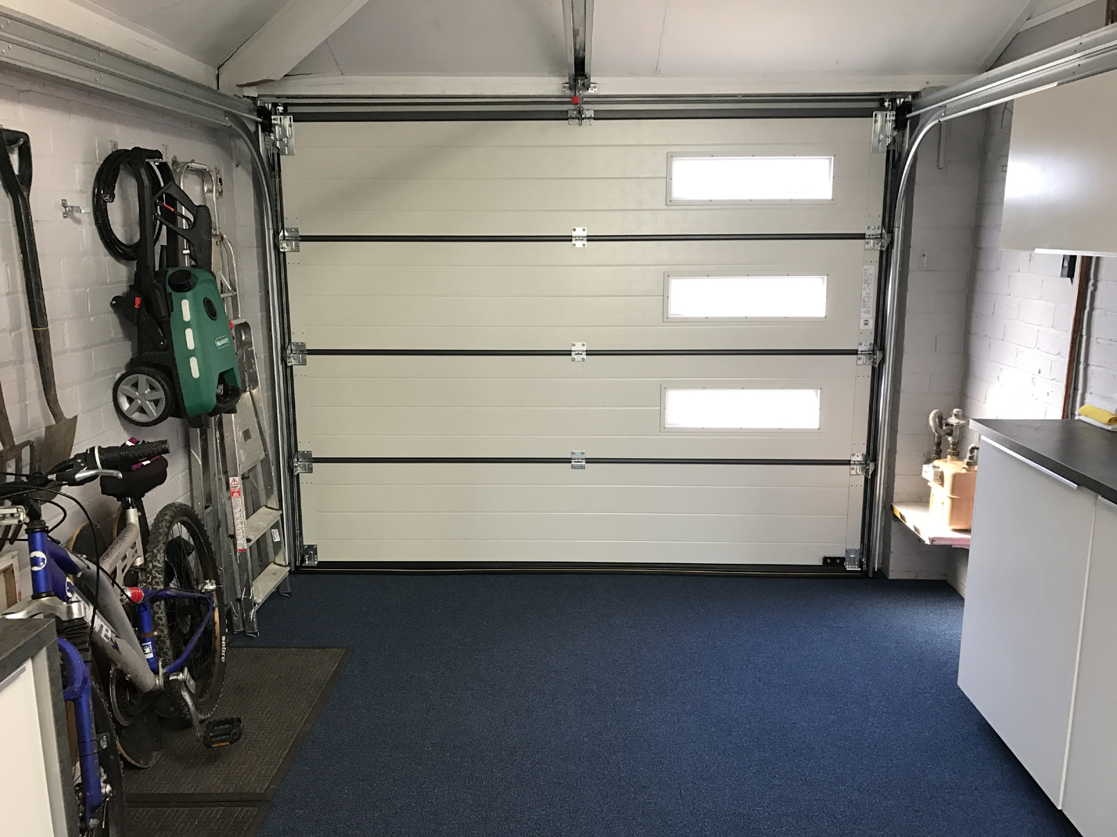 Doors To Garage: Hormann Sectional Garage Door, Denton