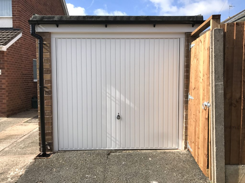 Horman garage door, fascias & gutters
