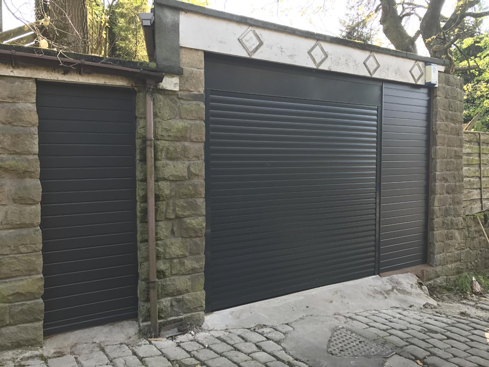 Alluguard Roller Door Hadfield Glossop Pennine Garage