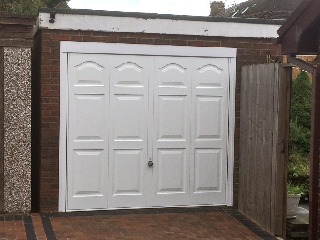 Garage door, wirral 3
