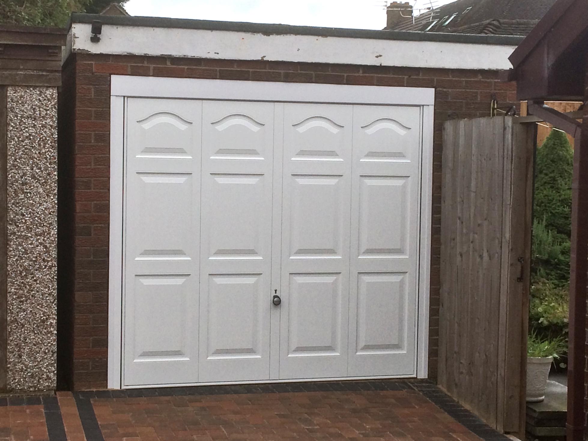 Garage Doors With Windows : Personnel door window and garage wirral pennine