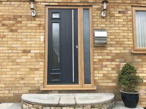Mossley front door