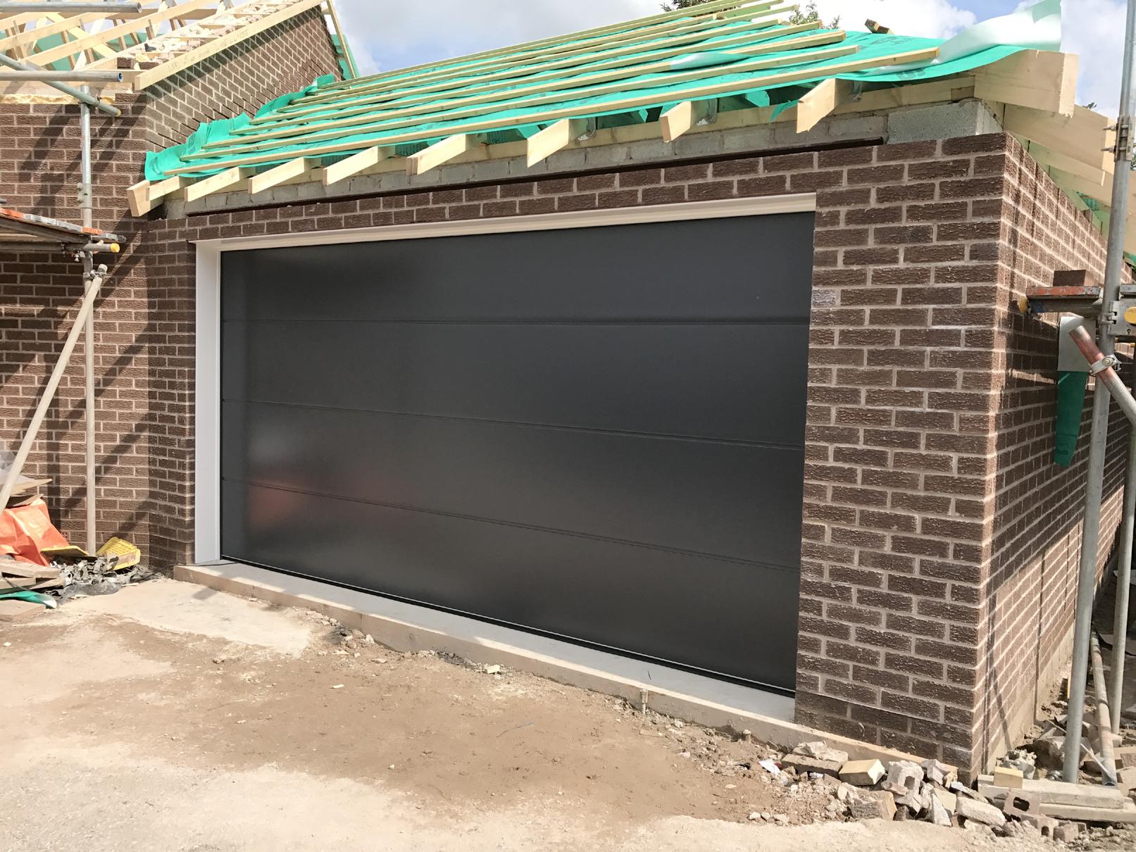 Carteck Sectional Door Buxton Derbyshire Pennine Garage Doors