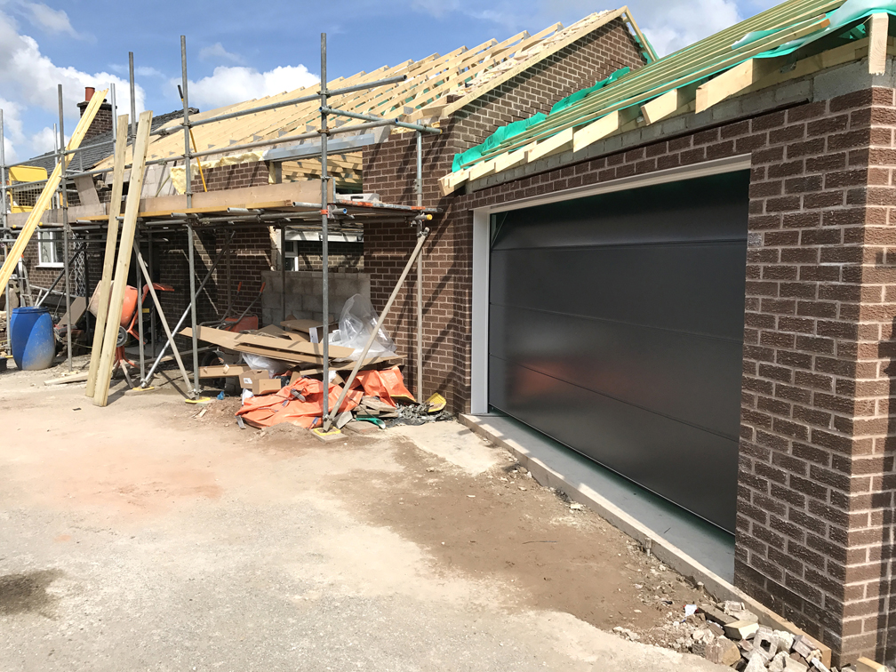 CarTeck sectional door. Buxton, Derbyshire