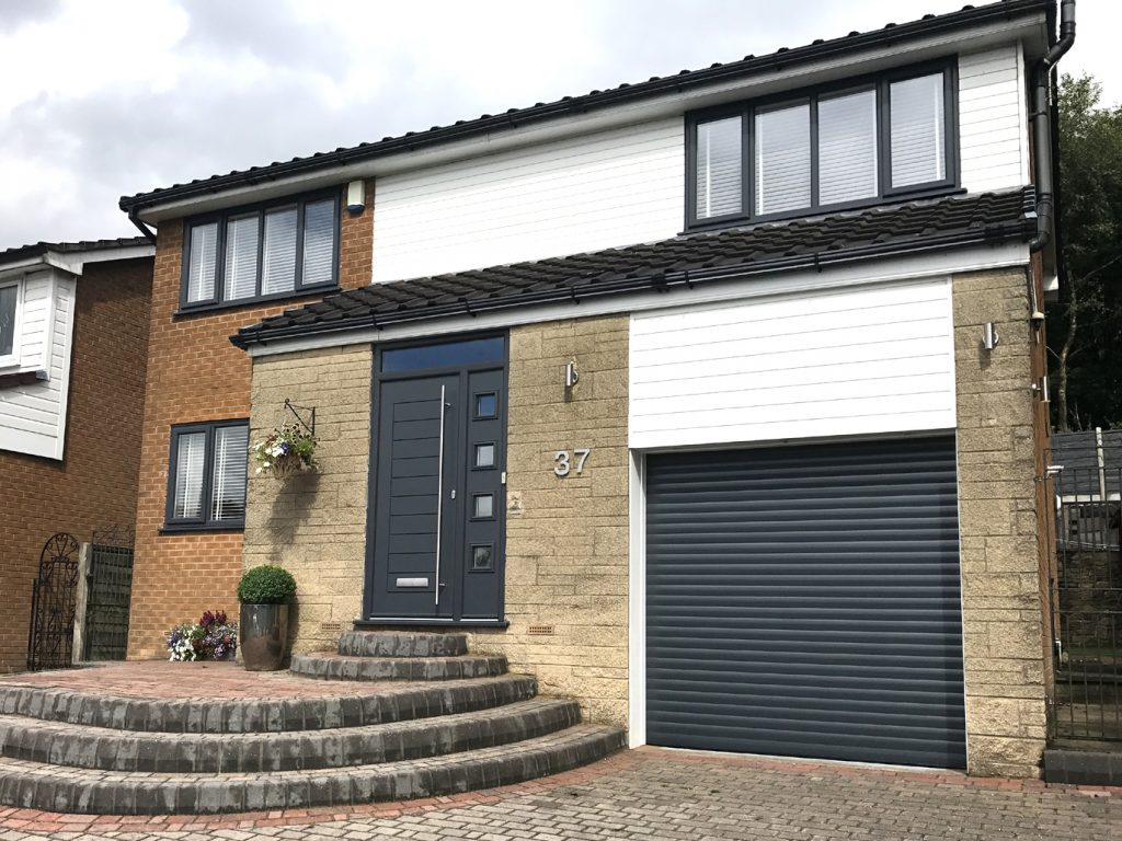 Doors To Garage: AlluGuard Garage Door, Stalybridge
