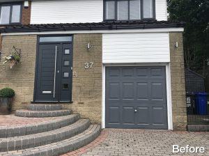 Garage door, Stalybridge old