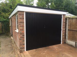 Garage renovation After front 2