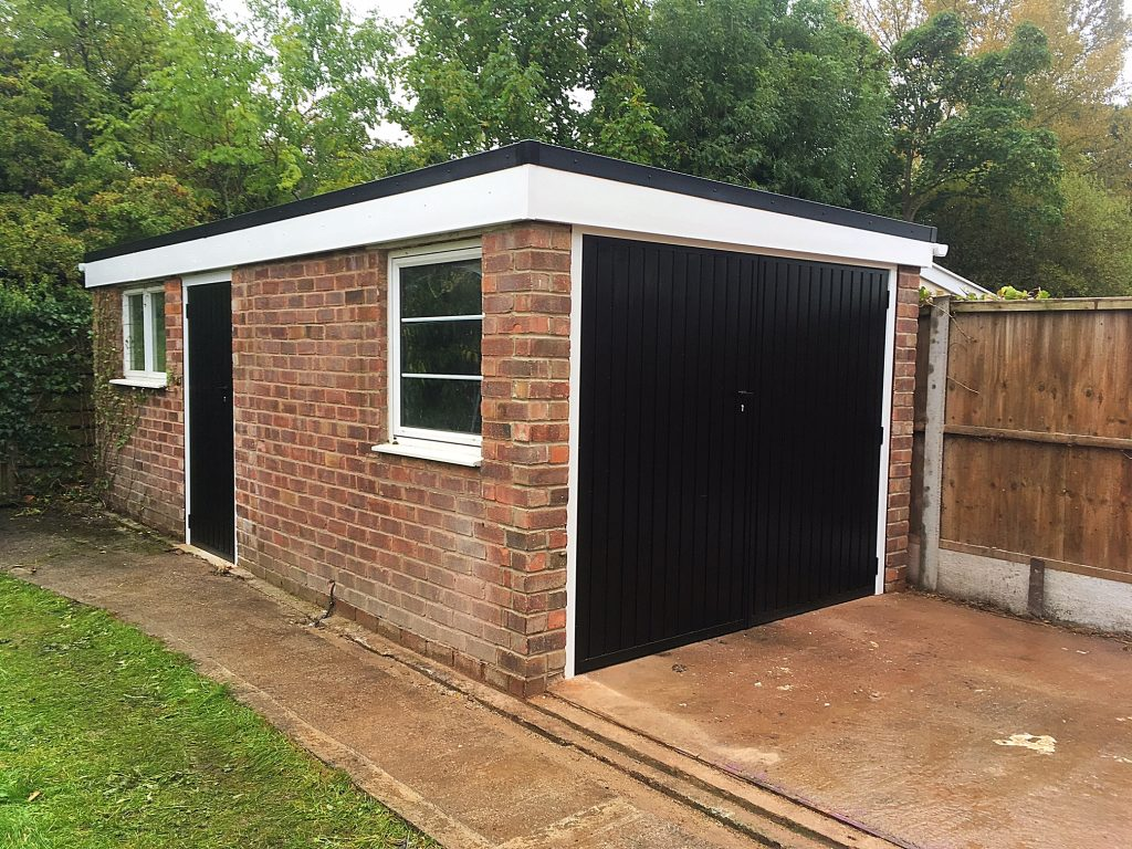 Garage renovation, Great Sutton, Wirral