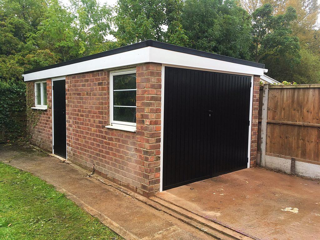 Garage renovation After side 2
