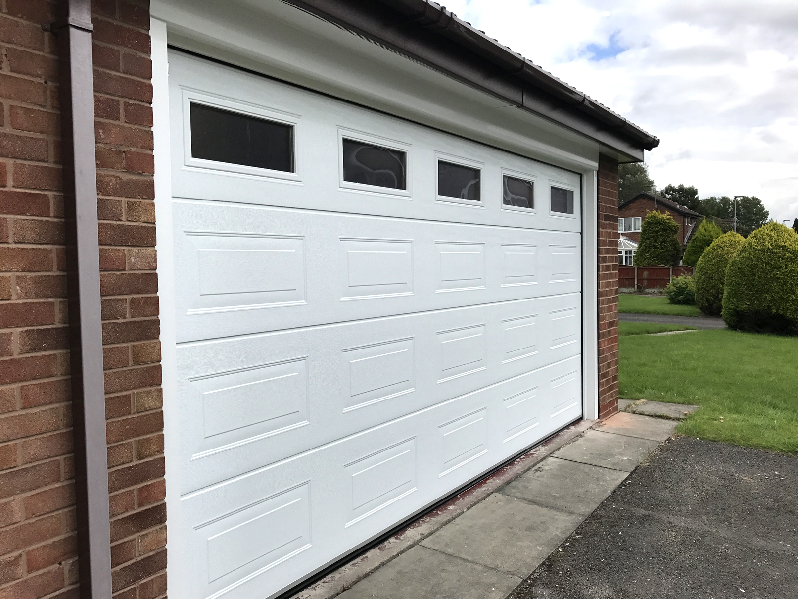 Carteck Georgian Sectional Door Warrington Pennine