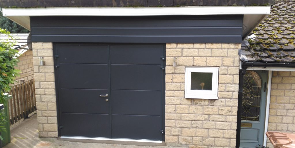 Carteck Side Hinged Doors Broadbottom Pennine Garage Doors