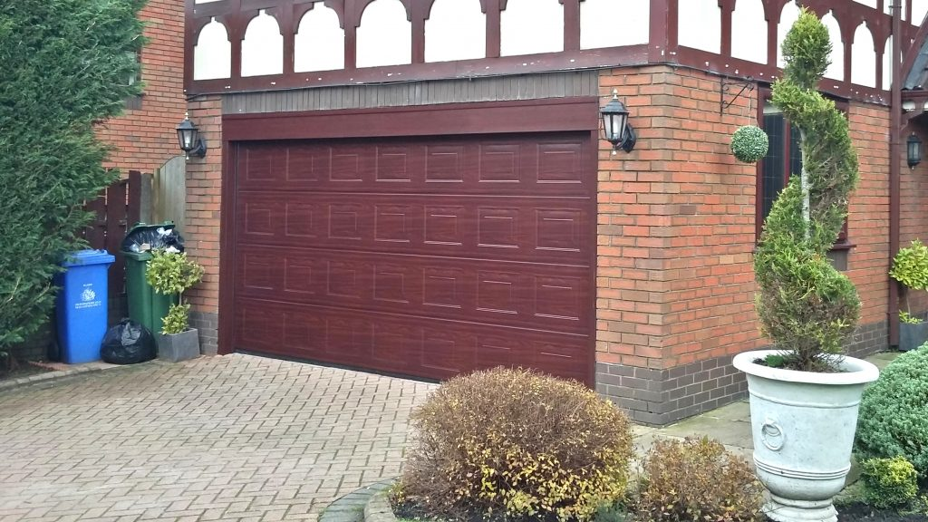 Hormann sectional door, Ashton Under Lyne
