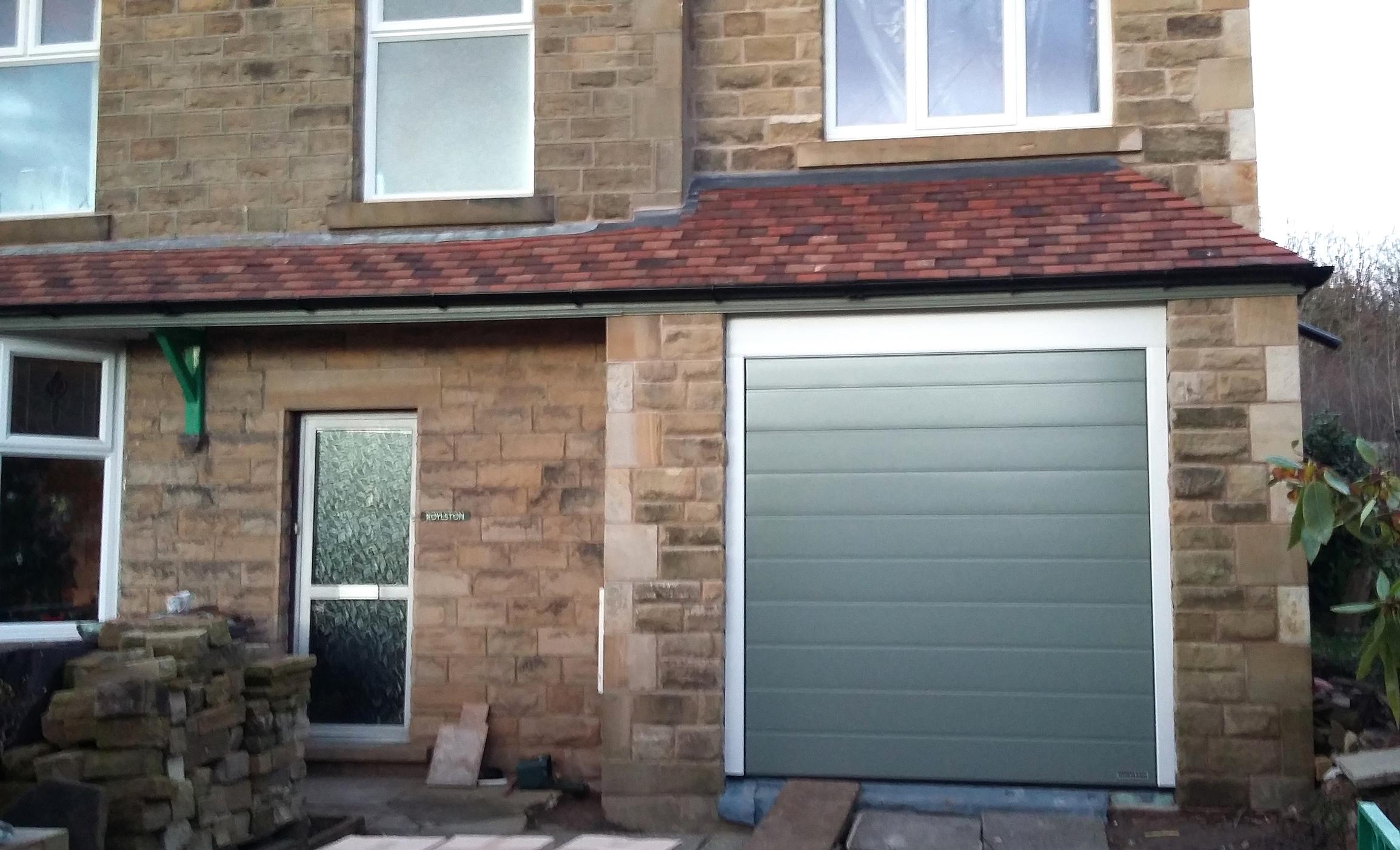 Hormann Sectional Garage Door Glossop Pennine Garage Doors