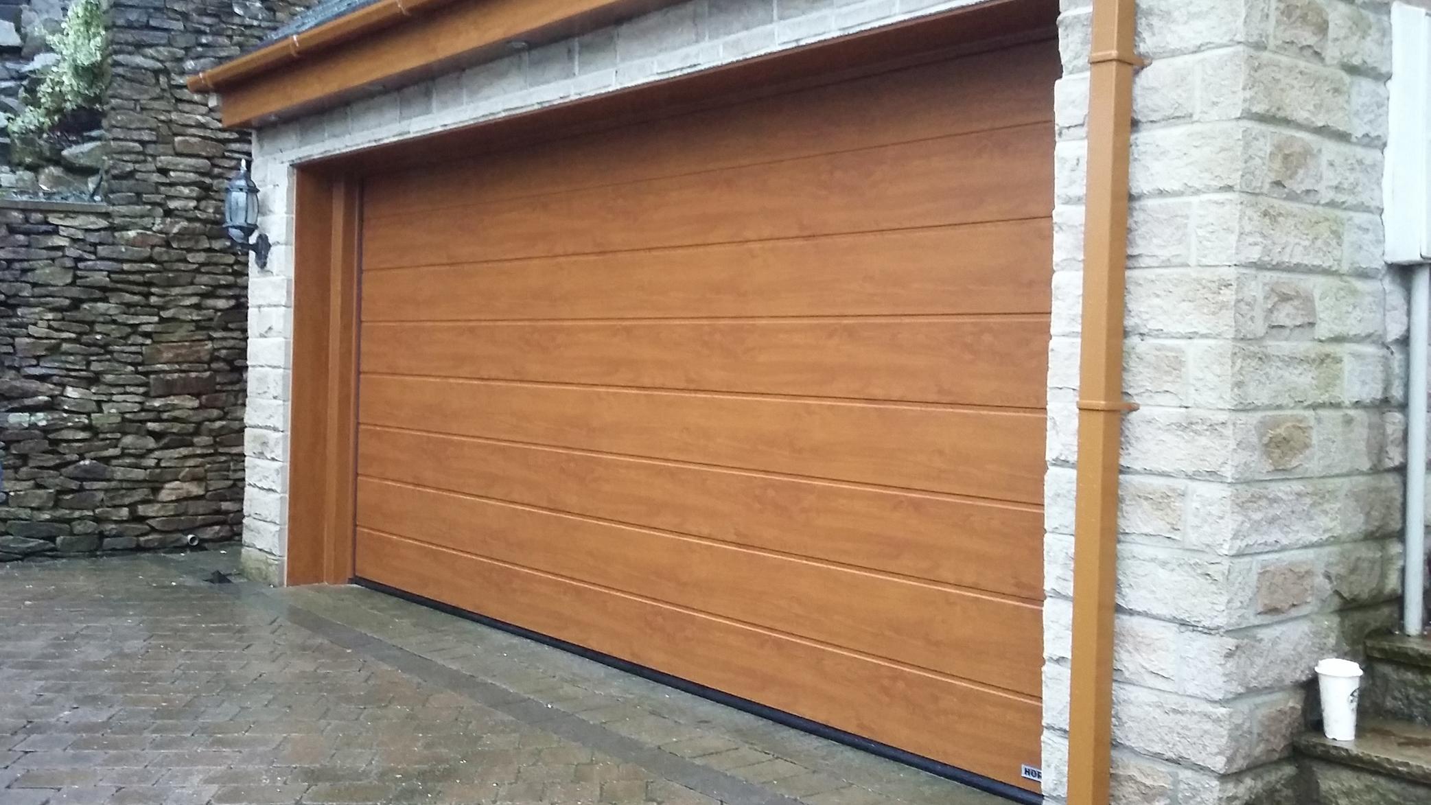 Hormann Sectional Door Mossley Pennine Garage Doors