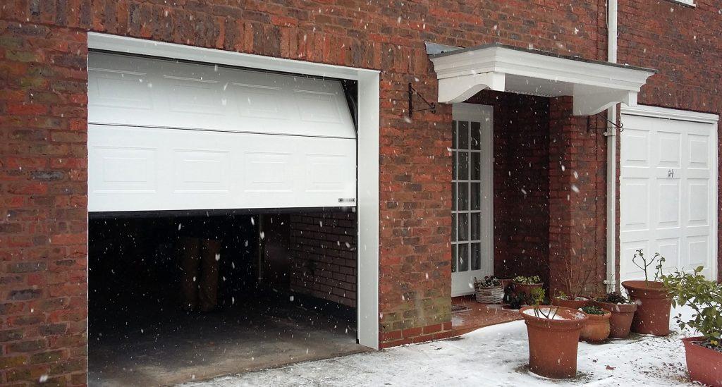 Hormann sectional, Didsbury open
