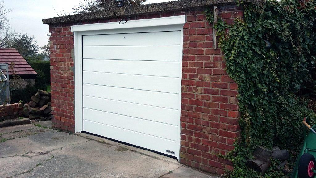 Horman sectional door, Helsby, Cheshire