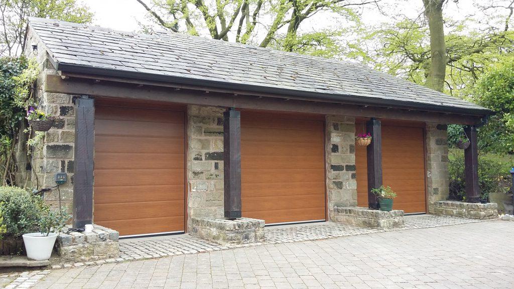 CarTeck sectional doors, Greenfield, Saddleworth