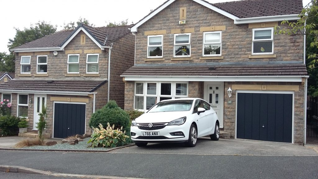 Hormann garage doors, Hadfield both