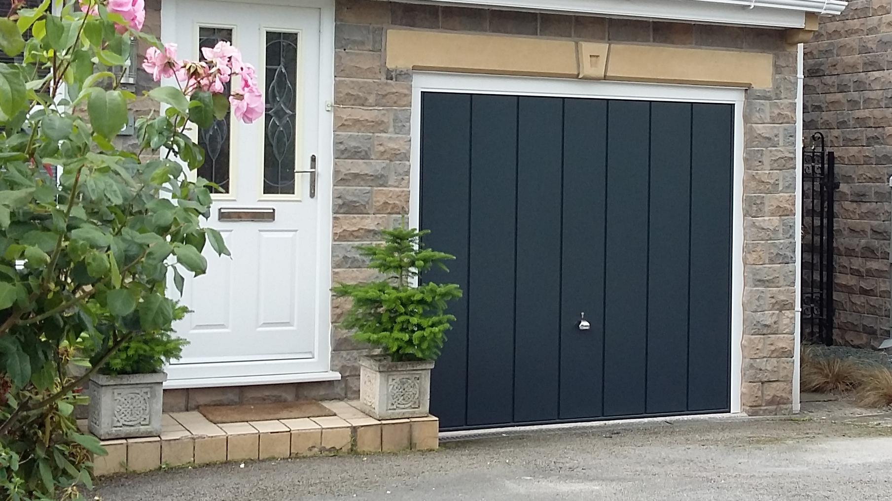 H 246 Rmann Garage Doors Hadfield Glossop Pennine Garage Doors