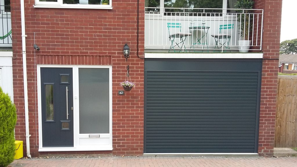AlluGuard roller door, The Wirral