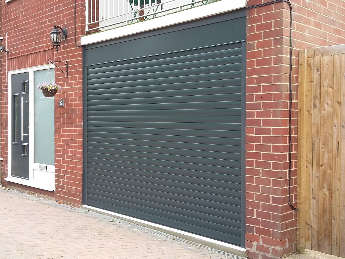 AlluGuard roller door, The Wirral - Pennine Garage Doors