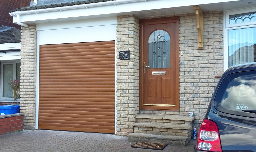 AlluGuard roller garage door, Godley