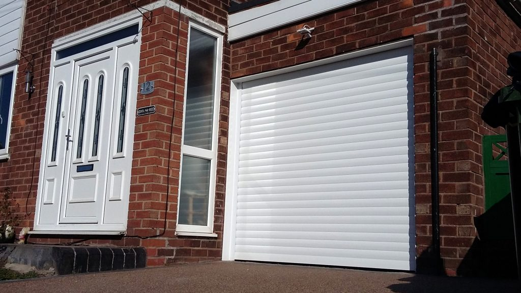 AlluGuard roller door, Hollingworth, Tameside