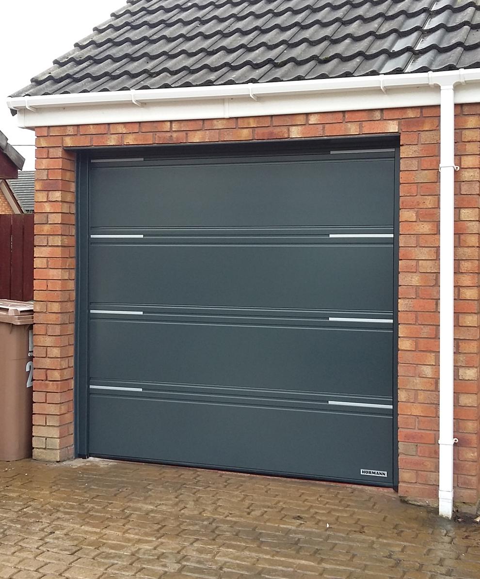 Hormann 2019 Garage Light: Hörmann Sectional Door, Wallasey, Wirral