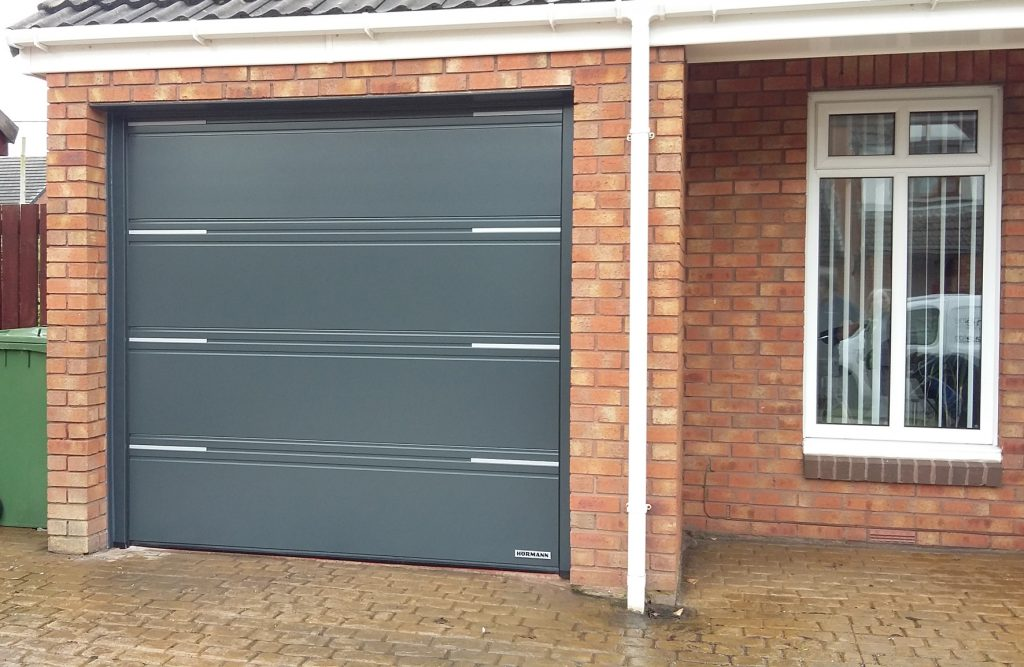 Hörmann sectional door, Wallasey, Wirral