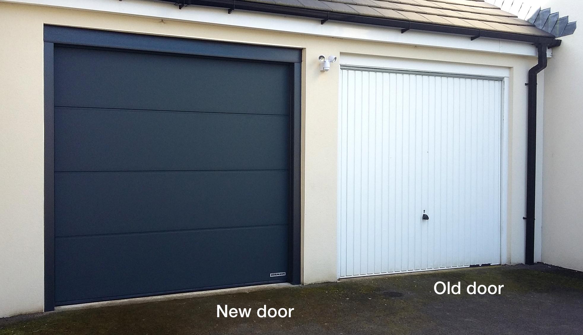 H 246 Rmann Sectional Doors Strines Marple Pennine Garage