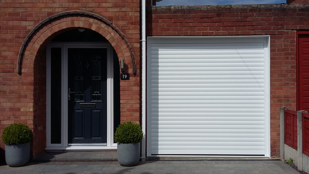 AlluGuard roller door, Great Sutton, Wirral